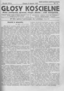 Głosy Kościelne. 1938 nr15