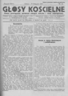 Głosy Kościelne. 1938 nr20