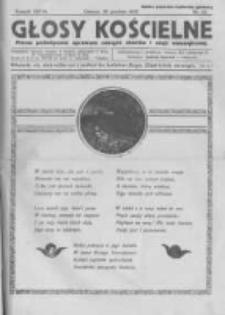 Głosy Kościelne. 1938 nr22