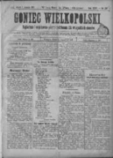 Goniec Wielkopolski: najtańsze i najstarsze pismo codzienne dla wszystkich stanów 1901.01.01 R.25 Nr+dodatki