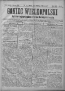 Goniec Wielkopolski: najtańsze i najstarsze pismo codzienne dla wszystkich stanów 1901.01.04 R.25 Nr3