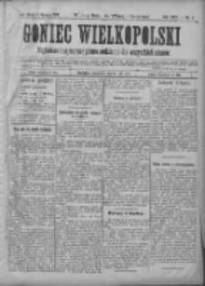 Goniec Wielkopolski: najtańsze i najstarsze pismo codzienne dla wszystkich stanów 1901.01.05 R.25 Nr4