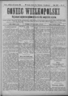 Goniec Wielkopolski: najtańsze i najstarsze pismo codzienne dla wszystkich stanów 1901.01.20 R.25 Nr17