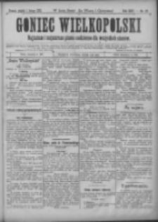 Goniec Wielkopolski: najtańsze i najstarsze pismo codzienne dla wszystkich stanów 1901.02.01 R.25 Nr27