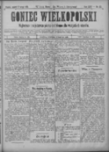 Goniec Wielkopolski: najtańsze i najstarsze pismo codzienne dla wszystkich stanów 1901.02.08 R.25 Nr32