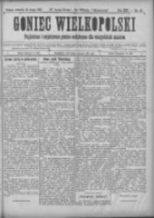 Goniec Wielkopolski: najtańsze i najstarsze pismo codzienne dla wszystkich stanów 1901.02.21 R.25 Nr43
