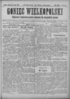 Goniec Wielkopolski: najtańsze i najstarsze pismo codzienne dla wszystkich stanów 1901.02.22 R.25 Nr44