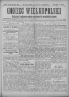 Goniec Wielkopolski: najtańsze i najstarsze pismo codzienne dla wszystkich stanów 1901.03.23 R.25 Nr69