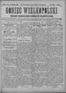 Goniec Wielkopolski: najtańsze i najstarsze pismo codzienne dla wszystkich stanów 1901.04.13 R.25 Nr85