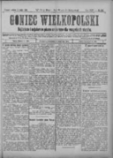 Goniec Wielkopolski: najtańsze i najstarsze pismo codzienne dla wszystkich stanów 1901.05.11 R.25 Nr108