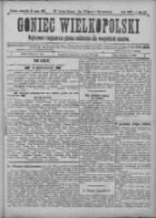 Goniec Wielkopolski: najtańsze i najstarsze pismo codzienne dla wszystkich stanów 1901.05.30 R.25 Nr122
