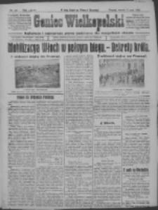 Goniec Wielkopolski: najtańsze i najstarsze pismo codzienne dla wszystkich stanów 1915.05.11 R.38 Nr106