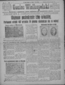 Goniec Wielkopolski: najtańsze i najstarsze pismo codzienne dla wszystkich stanów 1915.05.22 R.38 Nr115