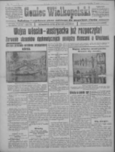 Goniec Wielkopolski: najtańsze i najstarsze pismo codzienne dla wszystkich stanów 1915.05.27 R.38 Nr118