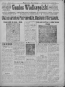 Goniec Wielkopolski: najtańsze i najstarsze pismo codzienne dla wszystkich stanów 1915.09.07 R.38 Nr204