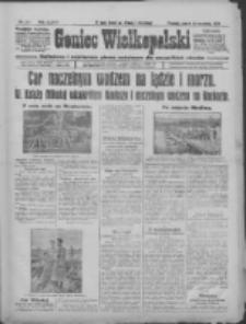 Goniec Wielkopolski: najtańsze i najstarsze pismo codzienne dla wszystkich stanów 1915.09.10 R.38 Nr207
