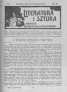 Literatura i Sztuka. Dodatek do Dziennika Poznańskiego. 1911 R.3 nr42