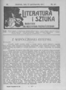 Literatura i Sztuka. Dodatek do Dziennika Poznańskiego. 1911 R.3 nr43