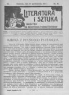 Literatura i Sztuka. Dodatek do Dziennika Poznańskiego. 1911 R.3 nr44