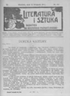 Literatura i Sztuka. Dodatek do Dziennika Poznańskiego. 1911 R.3 nr46