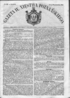 Gazeta Wielkiego Xięstwa Poznańskiego 1852.10.03 Nr232