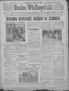 Goniec Wielkopolski: najtańsze i najstarsze pismo codzienne dla wszystkich stanów 1915.12.22 R.38 Nr287