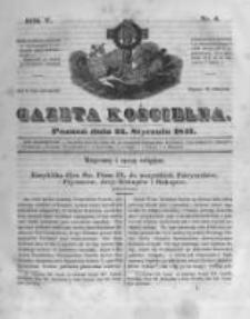 Gazeta Kościelna 1847.01.25 R.5 Nr4