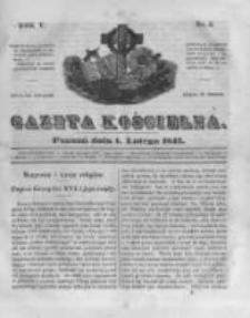 Gazeta Kościelna 1847.02.01 R.5 Nr5