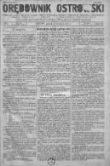 Orędownik Ostrowski: pismo na powiat Ostrowski oraz miast Ostrowa, Odolanowa, Sulmierzyc, Raszkowa i Skalmierzyc 1936.01.03 R.85 Nr1