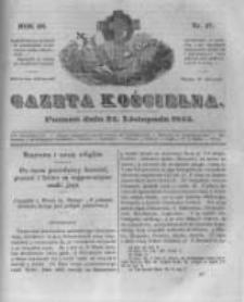 Gazeta Kościelna 1845.11.24 R.3 Nr47