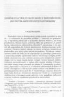 Dokumentacyjne funkcje imion w średniowieczu (na przykładzie dynastii piastowskiej)