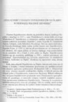 Działalność czeskich Dypoldowiców na Śląsku w pierwszej połowie XIII wieku
