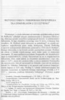 Przywilej księcia Pomorskiego Świętopełka dla Dominikanów z 22 I 1227 roku