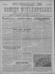 Goniec Wielkopolski: najstarszy i najtańszy niezależny dziennik demokratyczny 1930.01.08 R.54 Nr5
