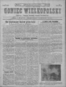 Goniec Wielkopolski: najstarszy i najtańszy niezależny dziennik demokratyczny 1930.01.15 R.54 Nr11