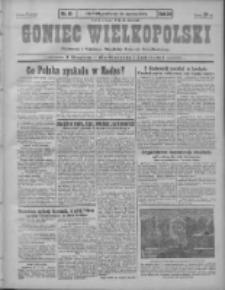 Goniec Wielkopolski: najstarszy i najtańszy niezależny dziennik demokratyczny 1930.01.24 R.54 Nr19