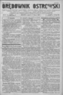 Orędownik Ostrowski: pismo na powiat Ostrowski oraz miast Ostrowa, Odolanowa, Sulmierzyc, Raszkowa i Skalmierzyc 1936.02.21 R.85 Nr15