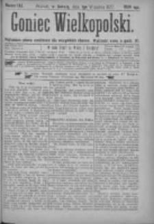 Goniec Wielkopolski: najtańsze pismo codzienne dla wszystkich stanów 1877.09.01 Nr153