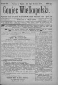Goniec Wielkopolski: najtańsze pismo codzienne dla wszystkich stanów 1877.09.07 Nr158+dodatek