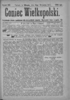 Goniec Wielkopolski: najtańsze pismo codzienne dla wszystkich stanów 1877.09.11 Nr160