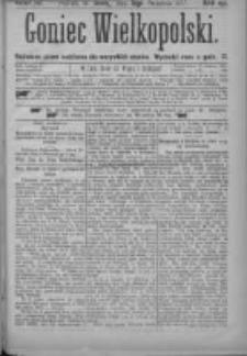 Goniec Wielkopolski: najtańsze pismo codzienne dla wszystkich stanów 1877.09.12 Nr161