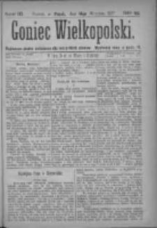 Goniec Wielkopolski: najtańsze pismo codzienne dla wszystkich stanów 1877.09.14 Nr163