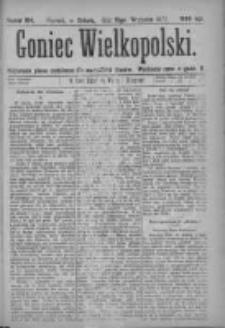 Goniec Wielkopolski: najtańsze pismo codzienne dla wszystkich stanów 1877.09.15 Nr164