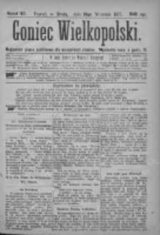Goniec Wielkopolski: najtańsze pismo codzienne dla wszystkich stanów 1877.09.19 Nr167