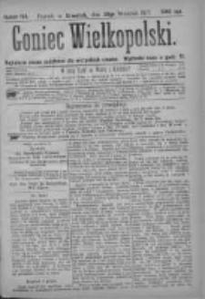 Goniec Wielkopolski: najtańsze pismo codzienne dla wszystkich stanów 1877.09.20 Nr168