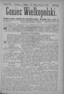 Goniec Wielkopolski: najtańsze pismo codzienne dla wszystkich stanów 1877.09.28 Nr175