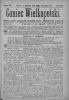 Goniec Wielkopolski: najtańsze pismo codzienne dla wszystkich stanów 1877.09.29 Nr176