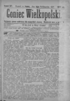 Goniec Wielkopolski: najtańsze pismo codzienne dla wszystkich stanów 1877.10.12 Nr187