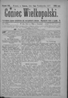 Goniec Wielkopolski: najtańsze pismo codzienne dla wszystkich stanów 1877.10.13 Nr188