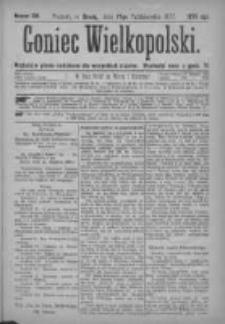 Goniec Wielkopolski: najtańsze pismo codzienne dla wszystkich stanów 1877.10.17 Nr191